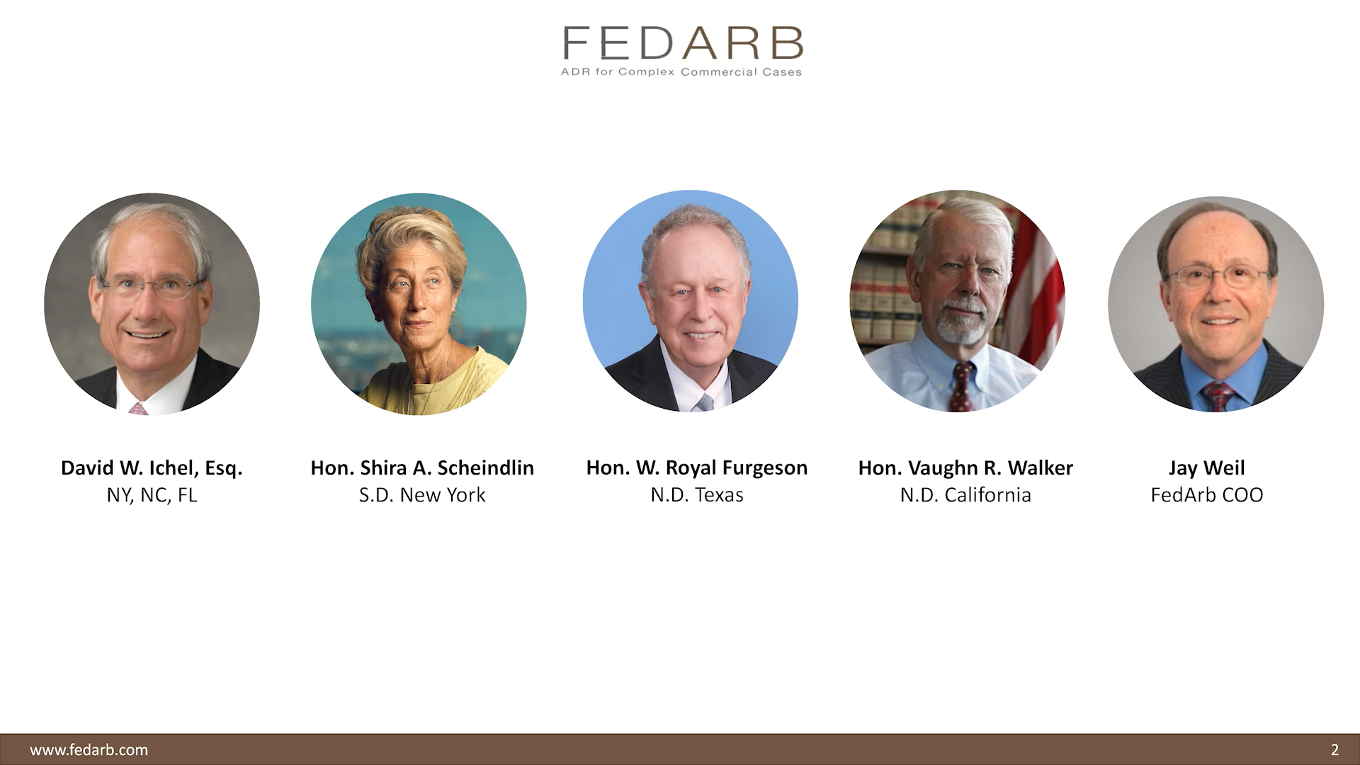 FedArb Video Mediation Webinar – July 10, 2020
